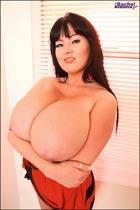 Busty Rachel Aldana in redcrossdress RachelAldana.com