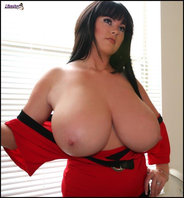 Sexy hot Rachel Aldana with massive boobs RachelAldana.com