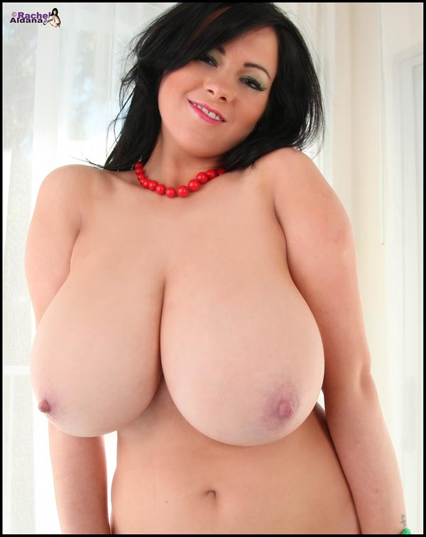 Big Breasted Rachel Aldana showing her tight forms-RachelAldana.com