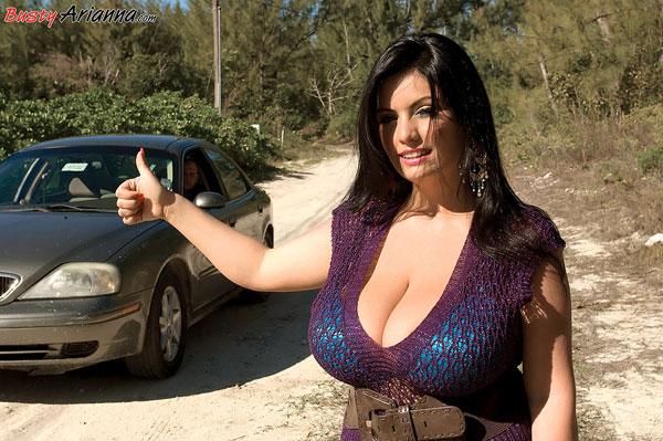 Big titted Arianna Sinn fucked by total stranger bustyarianna.com