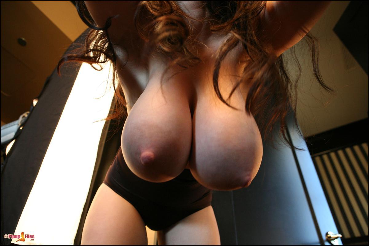 Big tits pumped